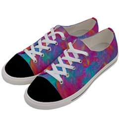 Abstract Fantastic Fractal Gradient Women s Low Top Canvas Sneakers by BangZart