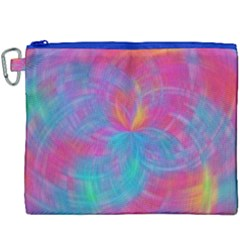 Abstract Fantastic Fractal Gradient Canvas Cosmetic Bag (xxxl)