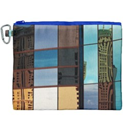 Glass Facade Colorful Architecture Canvas Cosmetic Bag (xxxl)