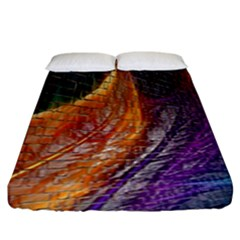Graphics Imagination The Background Fitted Sheet (king Size)