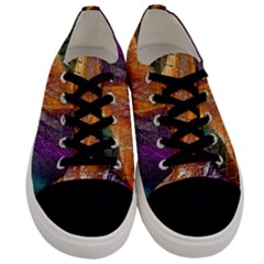 Graphics Imagination The Background Men s Low Top Canvas Sneakers