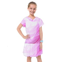 Material Ink Artistic Conception Kids  Drop Waist Dress by BangZart