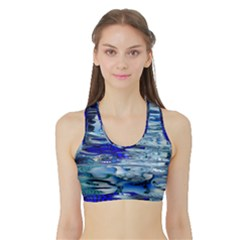 Graphics Wallpaper Desktop Assembly Sports Bra With Border
