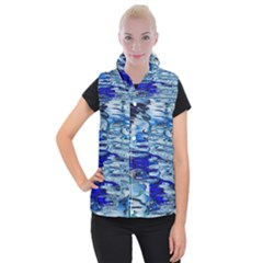 Graphics Wallpaper Desktop Assembly Women s Button Up Puffer Vest