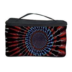 The Fourth Dimension Fractal Noise Cosmetic Storage Case by BangZart