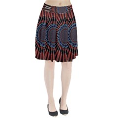 The Fourth Dimension Fractal Noise Pleated Skirt