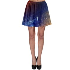 Colorful Pattern Color Course Skater Skirt