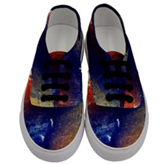 Colorful Pattern Color Course Men s Classic Low Top Sneakers