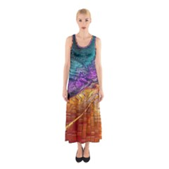 Graphics Imagination The Background Sleeveless Maxi Dress by BangZart