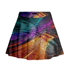 Graphics Imagination The Background Mini Flare Skirt