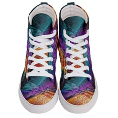 Graphics Imagination The Background Men s Hi Top Skate Sneakers