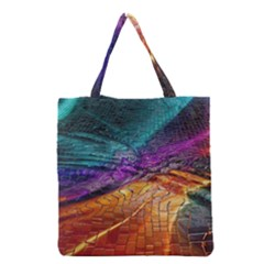 Graphics Imagination The Background Grocery Tote Bag