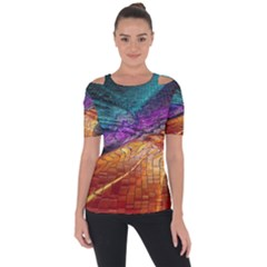 Graphics Imagination The Background Short Sleeve Top