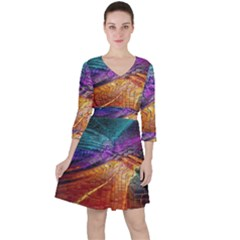 Graphics Imagination The Background Ruffle Dress
