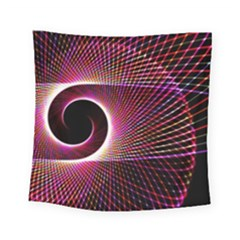 Grid Bent Vibration Ease Bend Square Tapestry (small)