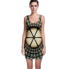 Stained Glass Colorful Glass Bodycon Dress by BangZart