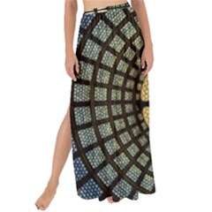 Stained Glass Colorful Glass Maxi Chiffon Tie Up Sarong