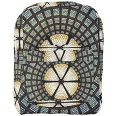 Stained Glass Colorful Glass Full Print Backpack