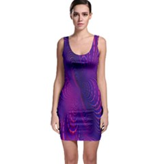 Abstract Fantastic Fractal Gradient Bodycon Dress by BangZart