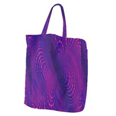 Abstract Fantastic Fractal Gradient Giant Grocery Zipper Tote