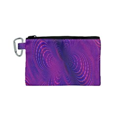 Abstract Fantastic Fractal Gradient Canvas Cosmetic Bag (small)