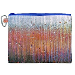 Glass Colorful Abstract Background Canvas Cosmetic Bag (xxl)
