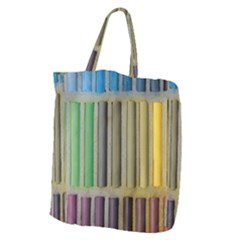 Pastels Cretaceous About Color Giant Grocery Zipper Tote