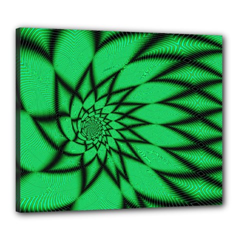 The Fourth Dimension Fractal Canvas 24  X 20