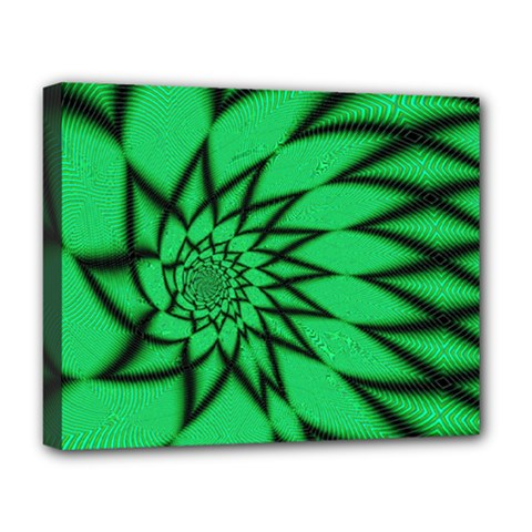 The Fourth Dimension Fractal Deluxe Canvas 20  X 16