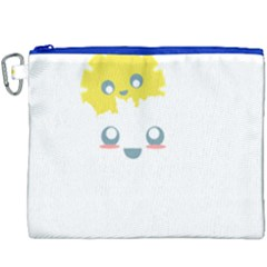 Cloud Cloudlet Sun Sky Milota Canvas Cosmetic Bag (xxxl)