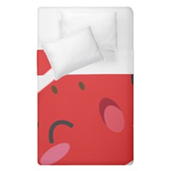 Watermelon Red Network Fruit Juicy Duvet Cover Double Side (single Size)
