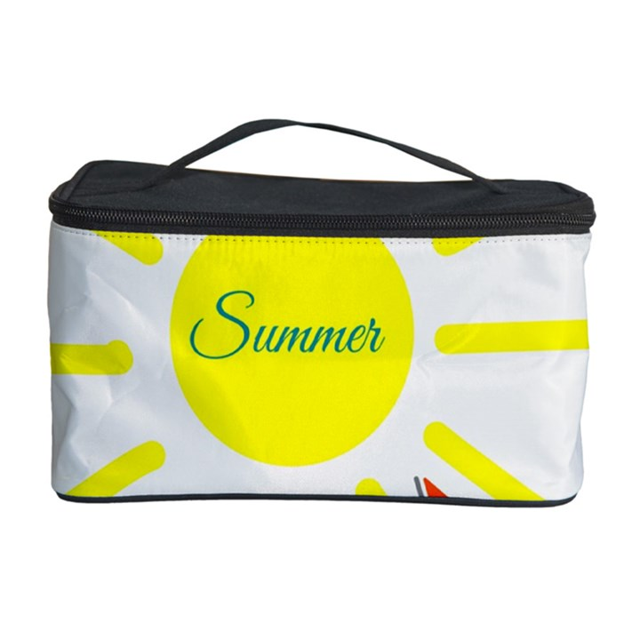Summer Beach Holiday Holidays Sun Cosmetic Storage Case