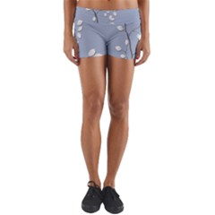 Branch Leaves Branches Plant Yoga Shorts