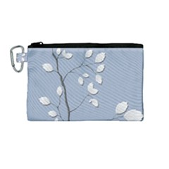 Branch Leaves Branches Plant Canvas Cosmetic Bag (medium)