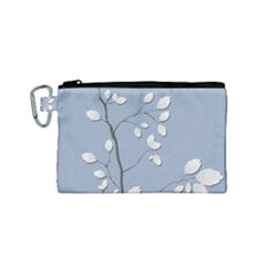 Branch Leaves Branches Plant Canvas Cosmetic Bag (small) by BangZart