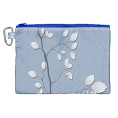 Branch Leaves Branches Plant Canvas Cosmetic Bag (xl)