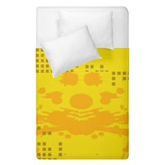 Texture Yellow Abstract Background Duvet Cover Double Side (single Size) by BangZart