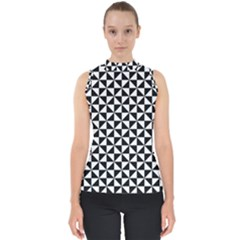 Triangle Pattern Simple Triangular Shell Top