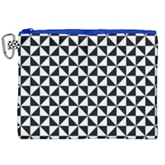 Triangle Pattern Simple Triangular Canvas Cosmetic Bag (xxl)