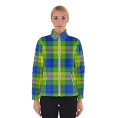 Spring Plaid Yellow Blue And Green Winterwear