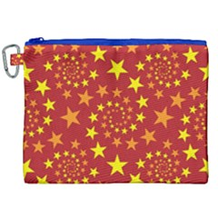 Star Stars Pattern Design Canvas Cosmetic Bag (xxl) by BangZart