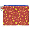 Star Stars Pattern Design Canvas Cosmetic Bag (XXL) View1