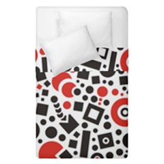 Square Objects Future Modern Duvet Cover Double Side (single Size)