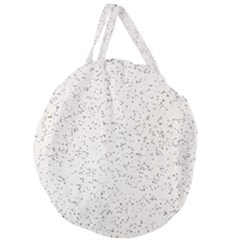 Pattern Star Pattern Star Giant Round Zipper Tote