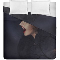 Vampire Woman Vampire Lady Duvet Cover Double Side (king Size)