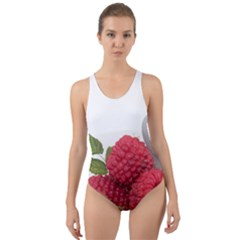 Fruit Healthy Vitamin Vegan Cut-Out Back One Piece Swimsuit