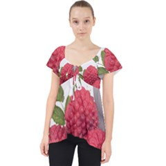 Fruit Healthy Vitamin Vegan Lace Front Dolly Top