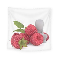 Fruit Healthy Vitamin Vegan Square Tapestry (Small)
