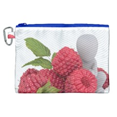 Fruit Healthy Vitamin Vegan Canvas Cosmetic Bag (xl)
