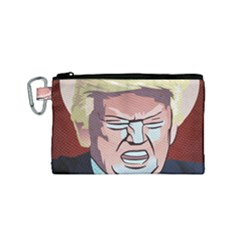 Donald Trump Pop Art President Usa Canvas Cosmetic Bag (small)